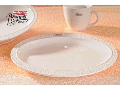 6518 lístček jídelní talíř 25 cm