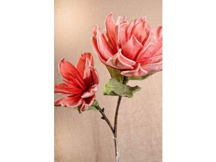 3 120P1 Aranžovací květina růžová 85 cm