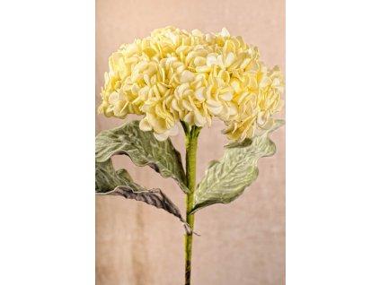 3 121Y Aranžovací květina žlutá 56 cm