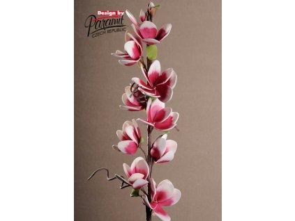 3 60R dekorativní květina 120 cm červená