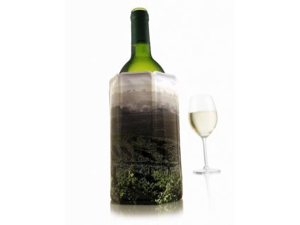 chladící návlek na víno vinice