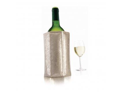 chladící návlek na víno platinum