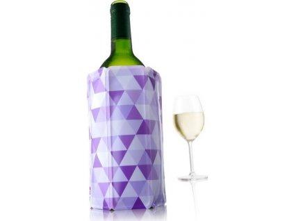 chladící návlek na víno fialová