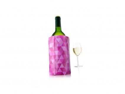 chladící návlek na víno růžová