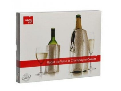 chladící návlek na šampaňské a víno platinum