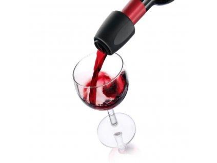 nálevka na víno černá