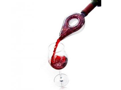 Provzdušňovač na víno