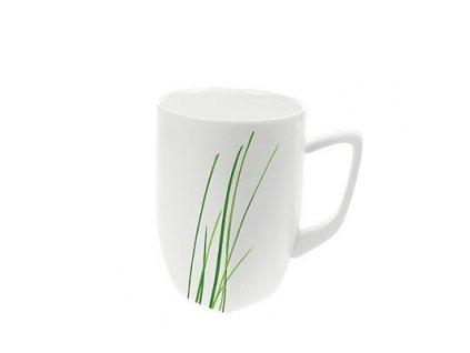Porcelánový hrnek Quadro 280 ml GRASS - by inspire