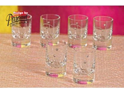 B3830 6 sklenice na destiláty 6 ks