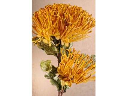 3 132Y Umělá květina žlutá 72 cm