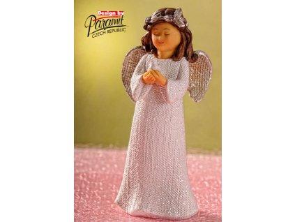 X154 14 Anděl Bulík s holubicí 14 cm od Paramit