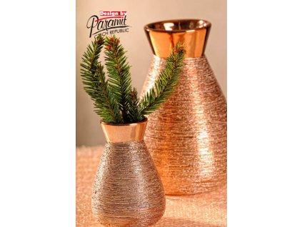 X141 10CP Marta váza měděná 10 cm od Paramit