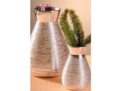 X141 10S Marta váza stříbrná 10 cm od Paramit