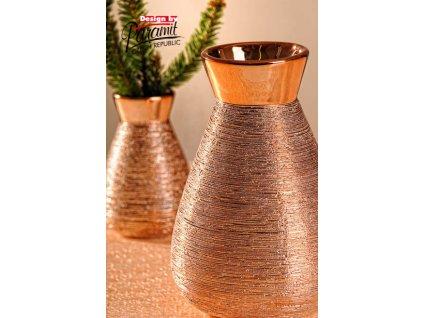 X141 16CP Marta váza měděná 16 cm od Paramit