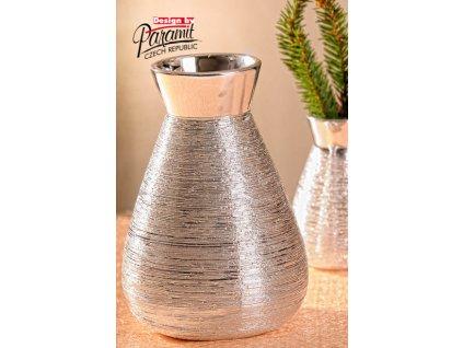 X141 16S Marta váza stříbrná 16 cm od Paramit