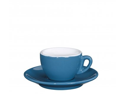 Šálek s podšálkem ROMA světle modrý 50 ml