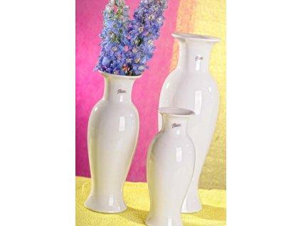 12052 40W Amfora váza bílá 40 cm