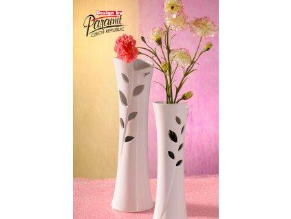 12058 28W Lisa váza bílá Paramit