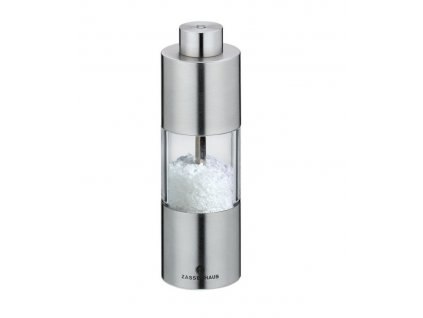 MAINZ - Mlýnek na sůl nerez/akryl 13 cm - Zassenhaus - 030402