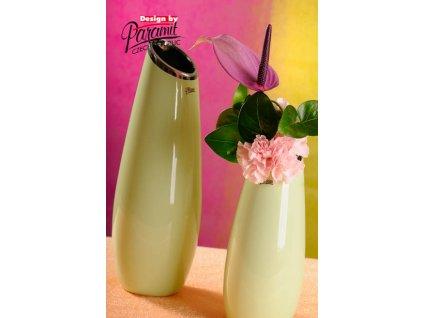12098 26G váza Lake 36 cm zelená