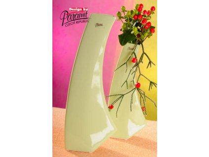 13011 36G váza Kos 36 cm zelená