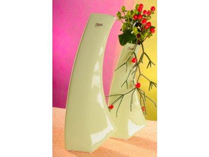13011 36G Kos váza zelená 36 cm
