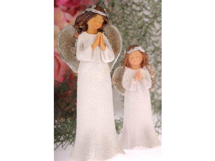 X157 20 Anděl Bulík modlící se 20 cm
