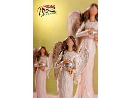 X152 21 anděl Vlaďka 21 cm