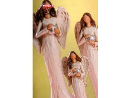 X152 15 anděl vlaďka 21 cm