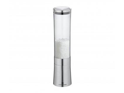 KOBLENZ - Mlýnek na sůl nerez/akryl 21 cm - Zassenhaus - 035643