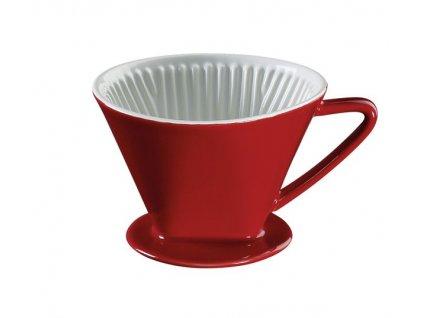 106121 červený kávový filtr