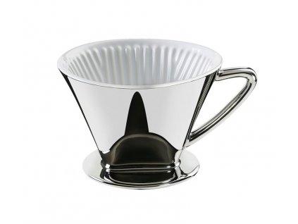 106152 filtr na kávu stříbrný