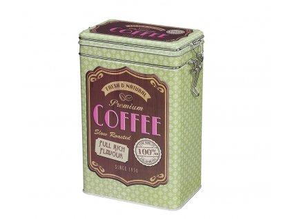 Dóza na kávu retro, zelená - Zassenhaus - 067217