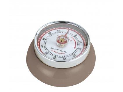 Kuchyňský časovač/minutník/minutka SPEED taupe - Zassenhaus - 071801