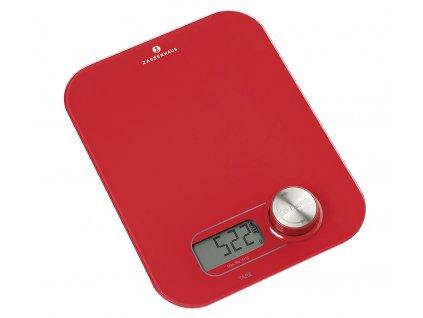 Digitální váha ECO ENERGY červená - Zassenhaus - 073461
