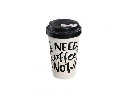 Cestovní hrnek ECO LINE I need coffee now - Zassenhaus - 053166