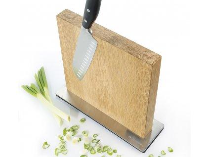 Magnetický blok na nože dub - Zassenhaus - 078084