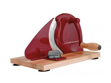 Ruční kráječ na chléb Classic červený - Zassenhaus - 072075