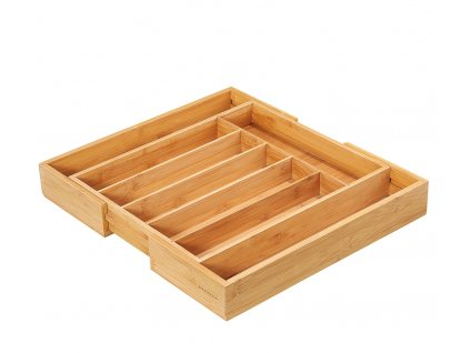 Příborník bambus ECO LINE 34,5-40x40x6 cm - Zassenhaus - 054286