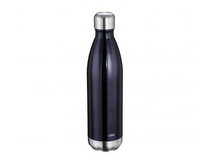 Termo láhev ELEGANTE metalicky černá 0,75 l - Cilio - 543469