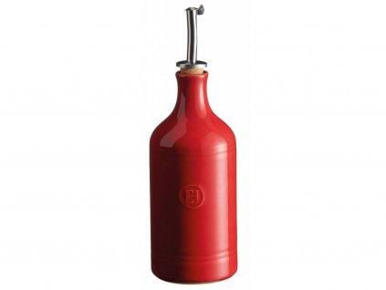 Dóza na olej 0,45 l - granátová - Emile Henry - 340215