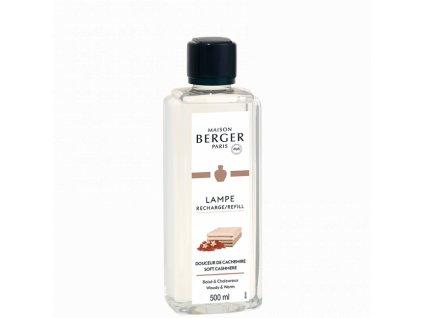 115190 Interiérový parfém Měkký kašmír 500 ml od Maison Berger Paris náhradní náplň do katalytické lampy pyramida vůní
