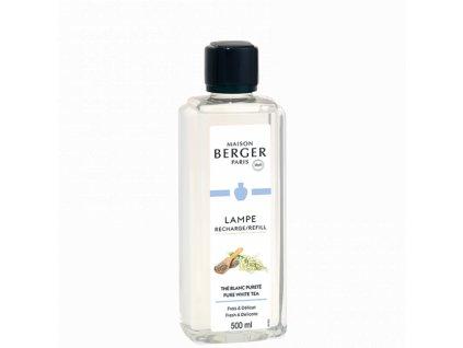 115361 Interiérový parfém Čistý bílý čaj 500 ml od Maison Berger Paris náhradní náplň do katalytické lampy