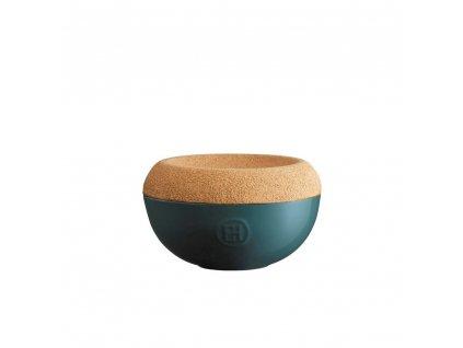 Dóza na sůl s korkovým víkem 0,5 l - máková - Emile Henry - 958761