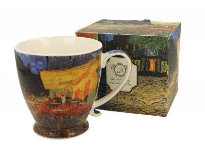 Vincent Van Gogh Cafe Terrace at Night hrnek na stopce 450 ml Duo zavřená krabička
