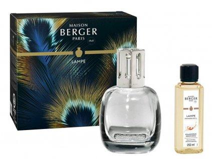 4682 Šedá katalytická lampa Etincelle a parfém Intenzivní třpyt 250 mlod Maison Berger Paris