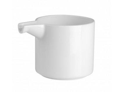 Mléčenka Quadro round 200 ml PURE - bílá - by inspire