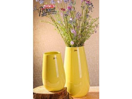 13010 20Y Porcelánová váza Erna 20 cm žlutá od Paramit