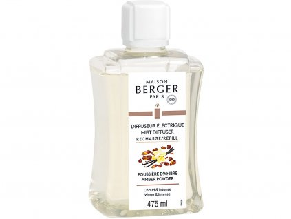 6495B Náplň do elektrického difuzéru Ambrový prach 475mlod Maison Berger Paris