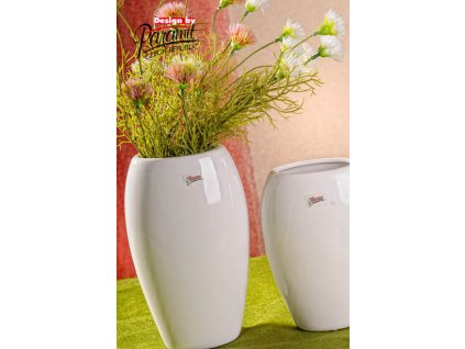 12099 20W Oreo bílá porcelánová váza od Paramit.